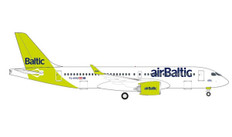 "airBaltic Airbus A220-300 - new livery ""100th A220"" - YL-AAU"
