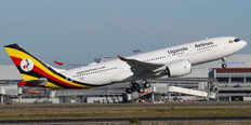 Herpa 500 Uganda Airlines Airbus A330-800neo-5X-NIL Scale 1/500 535427