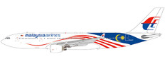 JC Wings Malaysia Airlines Negaraku Livery  A330-200 9M-MTZ With Stand 1/200 JCLH2162