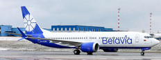 JC Wings Belavia Belarusian Airlines Boeing 737 MAX 8 EW-528PA With Stand/200 JCLH2306