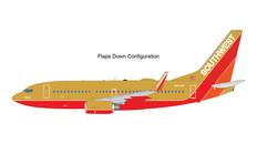 Gemini 200 Southwest Boeing 737-700 N714CB Flaps/Extended Scale 1/200 G2SWA961F