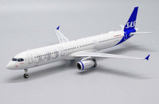 JC Wings SAS Scandinavian Airlines A321 OY-KBH With Stand 1/200JC2426
