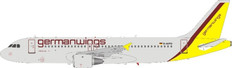 J Fox Models Germanwings Airbus A321-211 D-AIPD with stand Scale 1/200 JFA320040