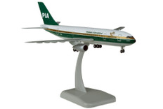 Hogan Wings PIA Pakistan International Airlines Airbus A300B4 and gear Scale 1/200 LI11663GR