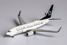 NG Models United Airlines Star Alliance Boeing 737-700 N13720 Scale 1/400 NG77005