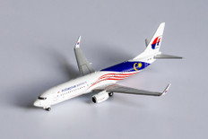 NG Models Malaysia Airlines Boeing 737-800 9M-MXF Scale 1/400 NG58103