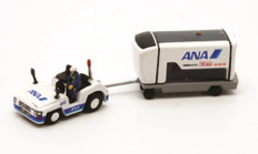 Fantasy Wings Airport Accessories Airport Accessories Ground Power Unit Set ANA All Nippon (Driver Included) Scale 1/200 FWDP-GPU-2006