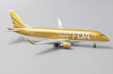 JC Wings Fuji Dream Airlines Gold Color Embraer ERJ170-200STD JA09FJ Scale 1/200 JCEW2175004