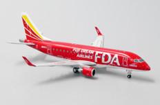 JC Wings Fuji Dream Airlines Red Color Embraer ERJ170-200STD JA01FJ Scale 1/400 JCEW4170003