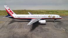 Gemini Jets TWA Boeing 757-200  N725TW Scale 1/400 GJTWA1982