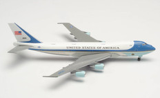 Herpa 500 Air Force One 89th Airlift Wing Joint Base Andrews Boeing 747-200 28000 Scale 1/500 502511-003