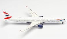 Herpa 500 British Airways Airbus A350-1000 G-XWBG Scale 1/500 533126-002