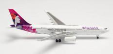 Herpa 500 Hawaiian Airlines Hoku Mau Airbus A330-200 N361HA Scale 1/500 535557