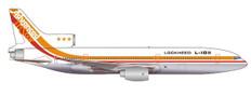 Herpa 500 50th anniversary Lockheed Corporation Lockheed L1011 Tristar Scale 1/500 535571