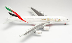 Herpa Wings Emirates Airbus A380 A6-EOE Scale 1/200 555432-003