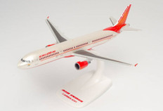 Herpa Snap-fit Air India Airbus A321 VT-PPX Scale 1/200 613415