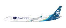 Gemini 200 Alaska One World Boeing 737-900ER N500WR Scale 1/200 G2ASA1015