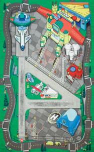Large airport playmat PP-HR2039
