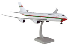 Hogan Wings Royal Flight of Oman Boeing 747-8i A40-HMS and gear Scale 1/200 HG11625