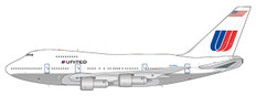 JC Wings United white livery Boeing 747-SP N538PA Scale 1/400 JC4961
