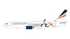 Gemini 200 Regional Express Boeing 737-800 VH-RQC Scale 1/200 G2RXA974