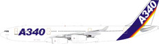 Inflight 200 Airbus House colors A340-200 F-WWBA with stand Scale 1/200 IF342AIRBUS01