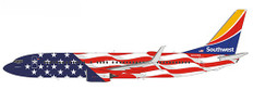 NG Models Southwest Airlines Boeing 737-800 N500WR Scale 1/400 58110