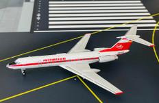 Panda Models Interflug Tupolev Tu134A DDR-SCK Scale 1/400 202115
