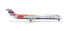 Herpa 500 One Two Go Airlines McDonnell Douglas MD-82 Scale 1/500 507868