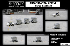Fantasy Wings Airport Accessories Cargo Set Blank Scale 1/200 FWDP-CG-2014