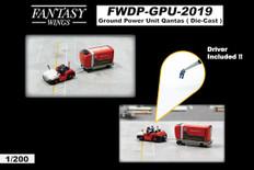 Fantasy Wings Airport Accessories Ground Power Unit Set Qantas Scale 1/200 FWDP-GPU-2019