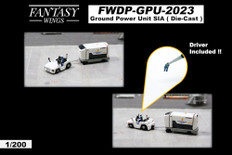 Fantasy Wings Airport Accessories Ground Power Unit Set SIA engineering company Scale 1/200 FWDP-GPU-2023
