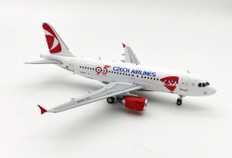 Inflight, 200, CSA, Czech, Airlines, 95, Anniversary, Airbus, A319-132, with, stand, Scale, 1/200, M.CZ-319-NEN,