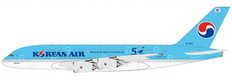 JC Wings Korean Air Airbus A380 HL7614 With Stand Scale 1/200 BBOX2543