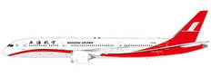 JC Wings Shanghai Airlines Boeing 787-9 Dreamliner B-1113 with Stand Scale 1/200 JCLH2131