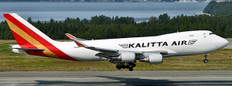 JC Wings Kalitta Air Boeing 747-400F N403KZ With Stand Scale 1/200 JCLH2328