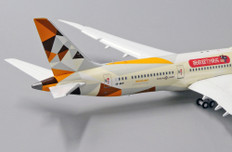 JC Wings Etihad Airways TMALL Livery Boeing 787-9 A6-BLM Flaps down Scale 1/400 JC4219A