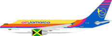 Inflight 200 Air Jamaica Airbus A310-300 6Y-JAB with stand Scale 1/200 IF310JM1121