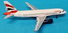ARD/AC British Airways Chatham Airbus A319-131 G-EUPZ Scale 1/400 ARD4BA02