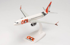 Herpa Snap-fit GOL Transportes Aéreos Boeing 737 Max 8 PR-XMB Scale 1/200 613514