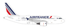 Herpa 500 Air France Airbus A318 2021 livery F-GUGO Scale 1/500 535779