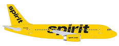 Herpa 500 Spirit Airlines Airbus A319 N532NK Scale 1/500 535809