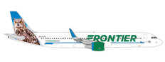 Herpa 500 Frontier Airlines Airbus A321 N701FR Otto the Owl Scale 1/500 535830