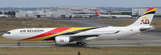JC Wings Air Belgium Airbus A330-900neo OO-ABG Scale 1/400 JCLH4276