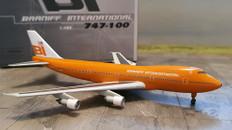 Jet X Braniff Boeing 747-100 N601BN Scale 1/400 0604