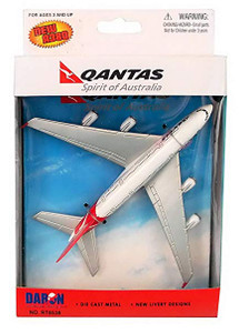 Qantas Airbus A380 Toy Plane RT8538