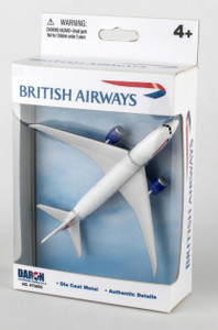 British Airways Boeing 787 Toy diecast aeroplane