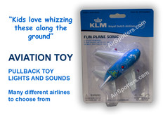 KLM fun plane with lights and sound FP66N