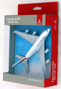 Air Emirates toy diecast aircraft Airbus A380 PP-EM6264