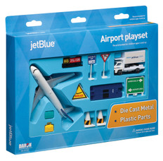 Jet Blue toy airport playset RT1221